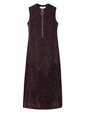 IRENE シルクロングドレス