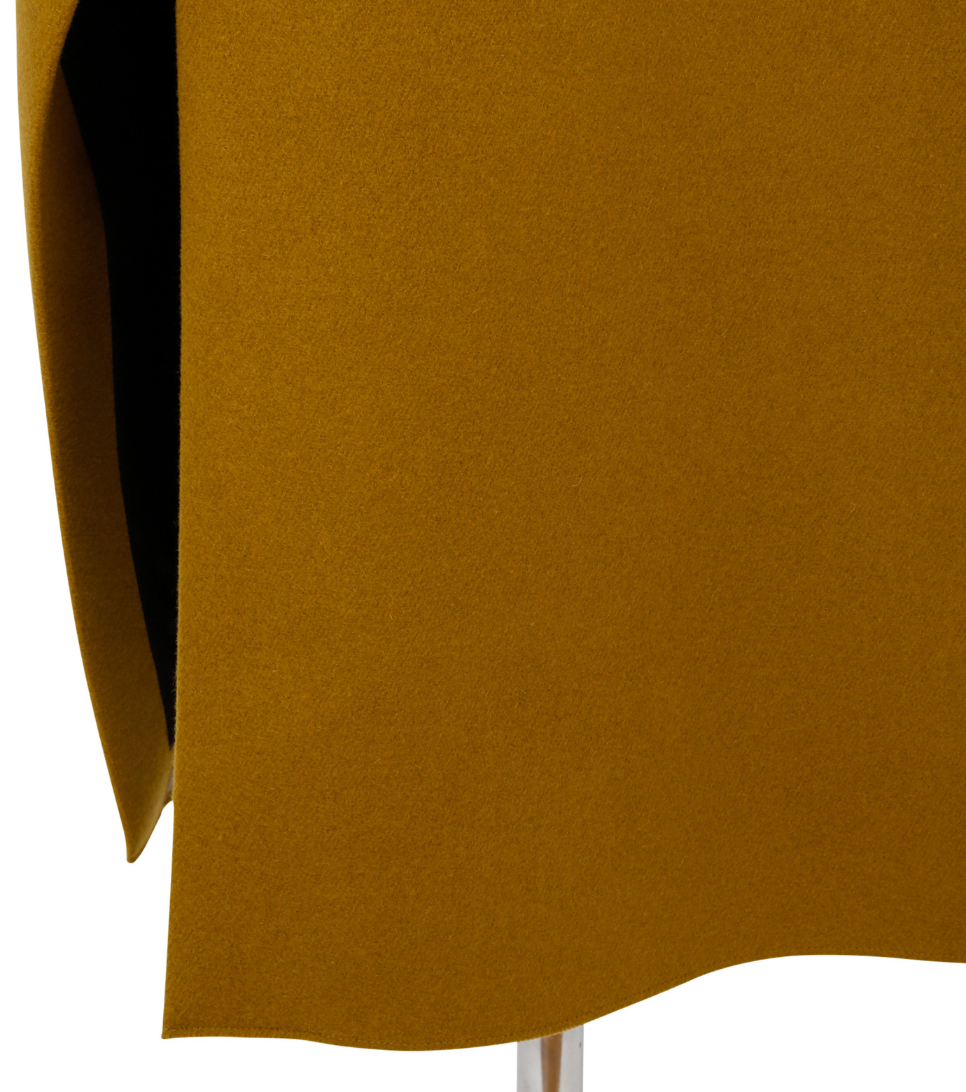 IRENE(アイレネ)のツイストボックスラップスカート-MUSTARD(スカート/skirt)-18A87002 拡大詳細画像4