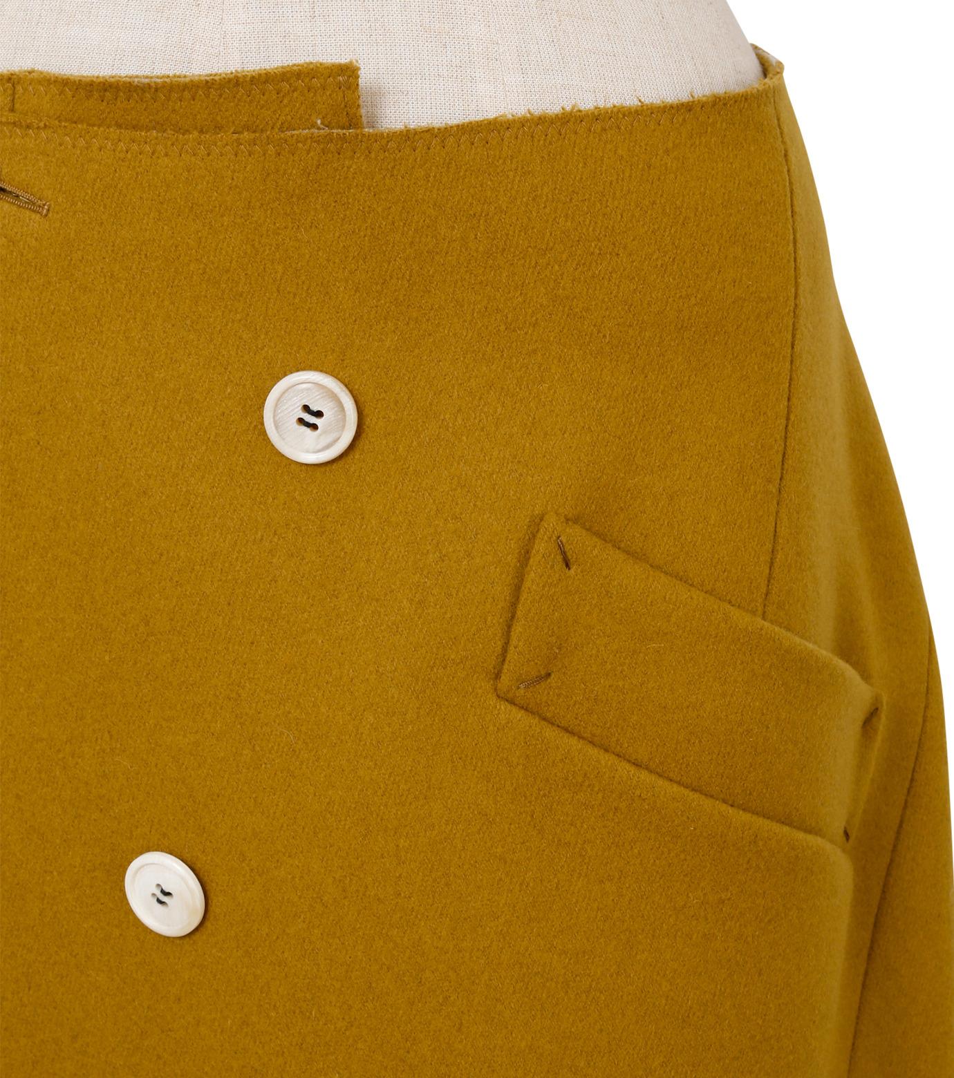 IRENE(アイレネ)のツイストボックスラップスカート-MUSTARD(スカート/skirt)-18A87002 拡大詳細画像5
