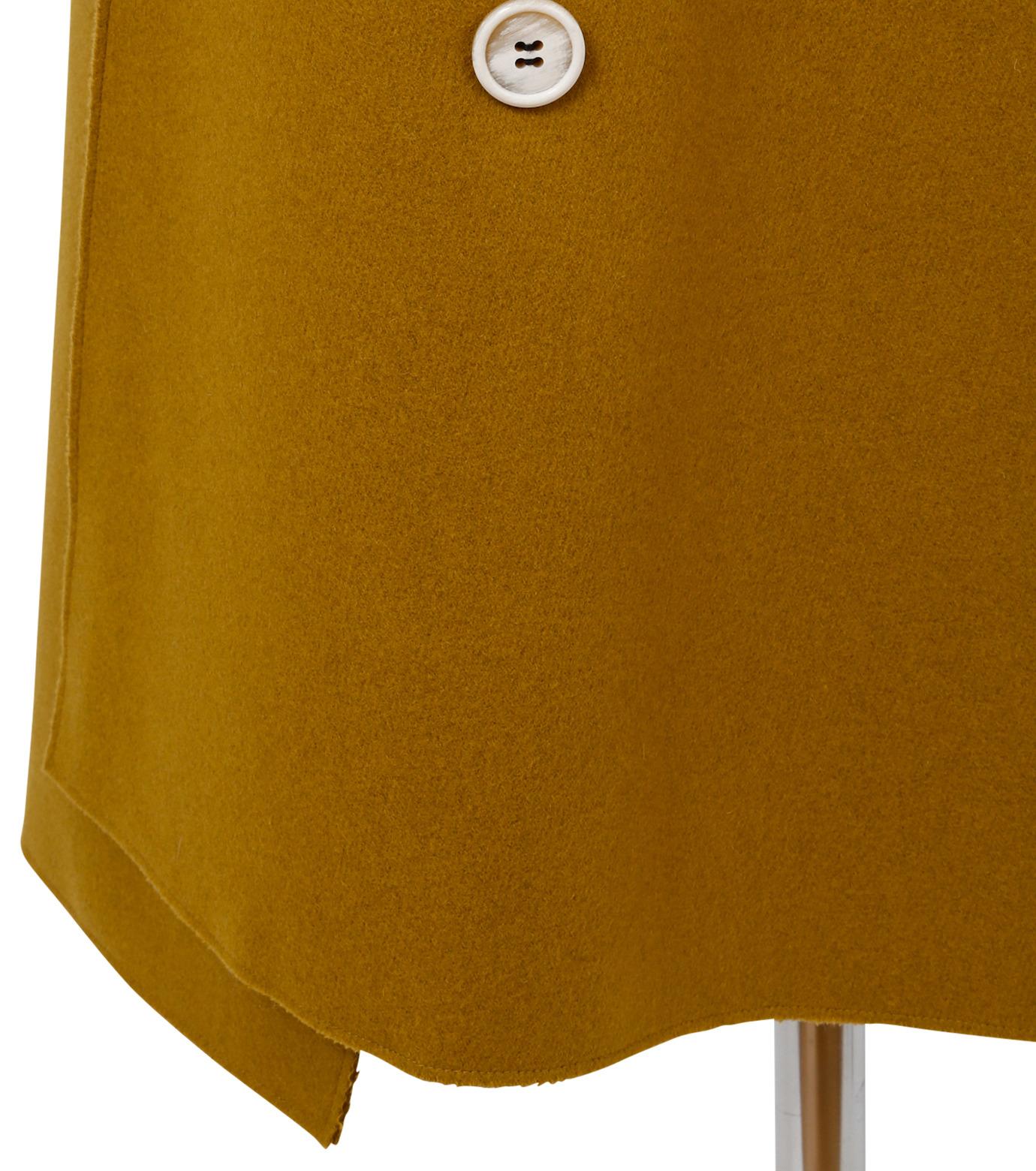IRENE(アイレネ)のツイストボックスラップスカート-MUSTARD(スカート/skirt)-18A87002 拡大詳細画像6