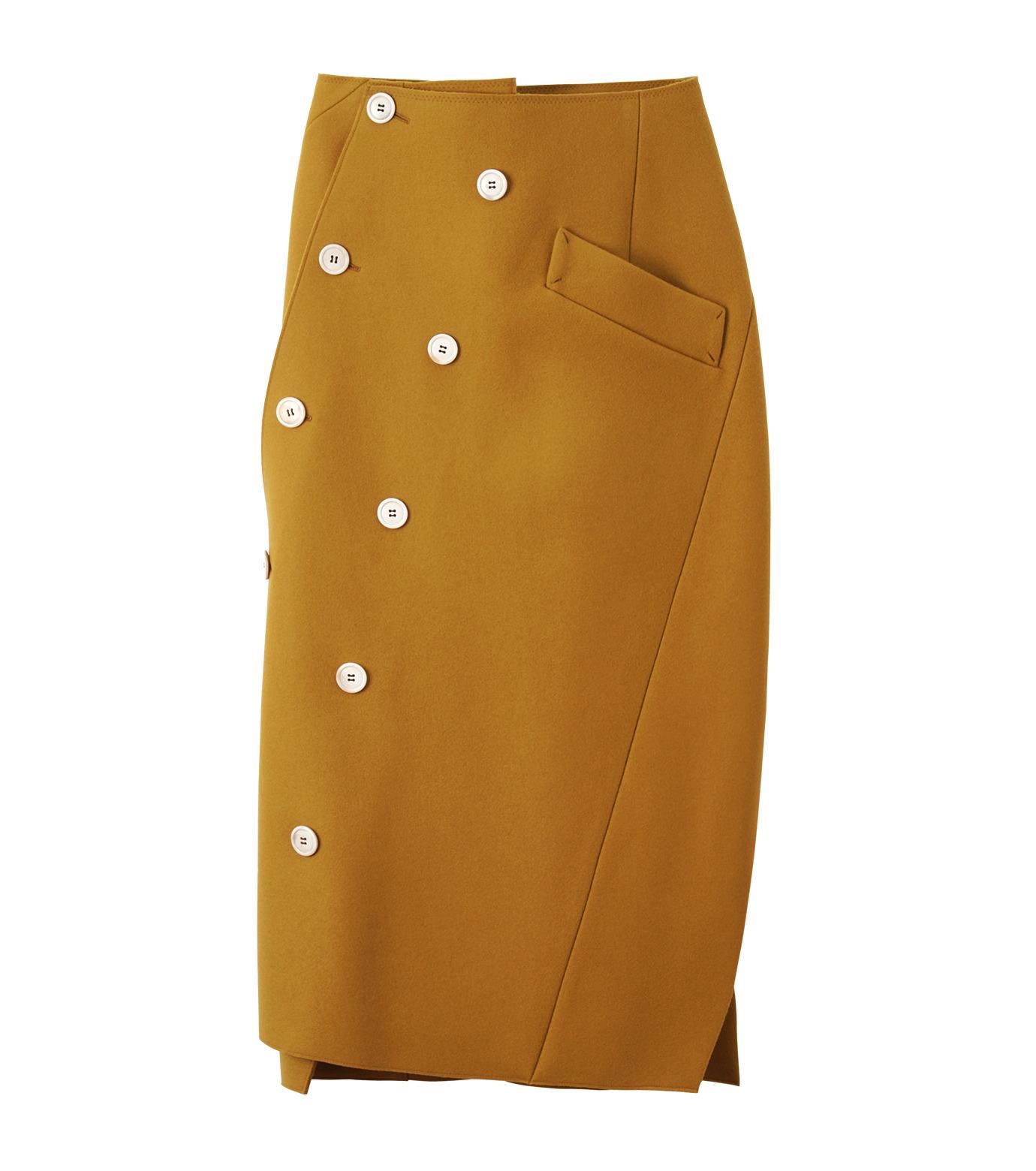 IRENE(アイレネ)のツイストボックスラップスカート-MUSTARD(スカート/skirt)-18A87002 拡大詳細画像8
