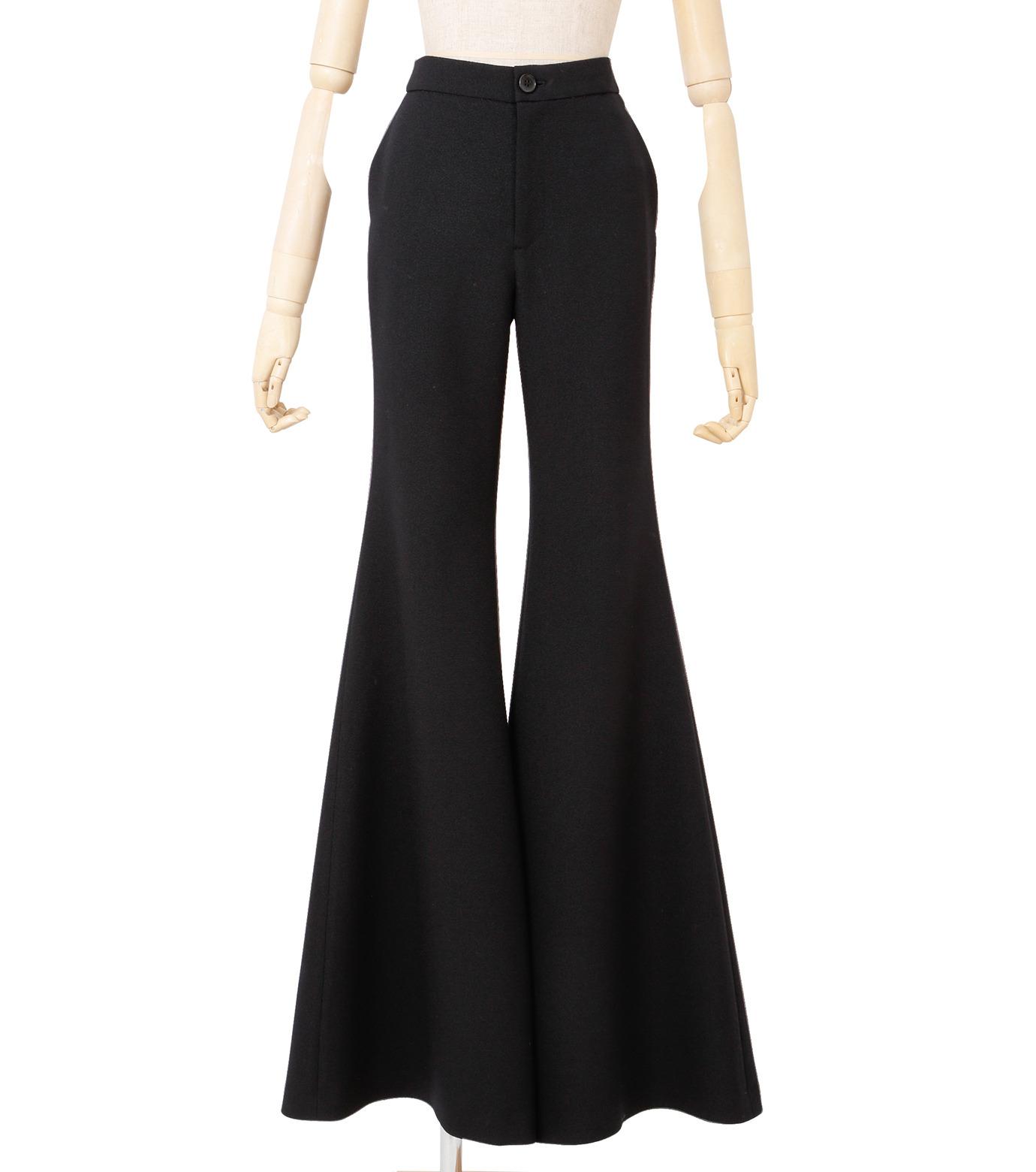 IRENE(アイレネ)のトランペットトラウザー-BLACK(パンツ/pants)-18A88002 拡大詳細画像1