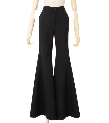 IRENE(アイレネ)のトランペットトラウザー-BLACK(パンツ/pants)-18A88002 詳細画像1