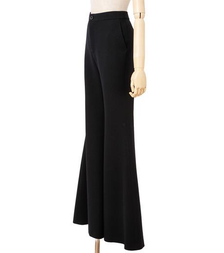 IRENE(アイレネ)のトランペットトラウザー-BLACK(パンツ/pants)-18A88002 詳細画像2