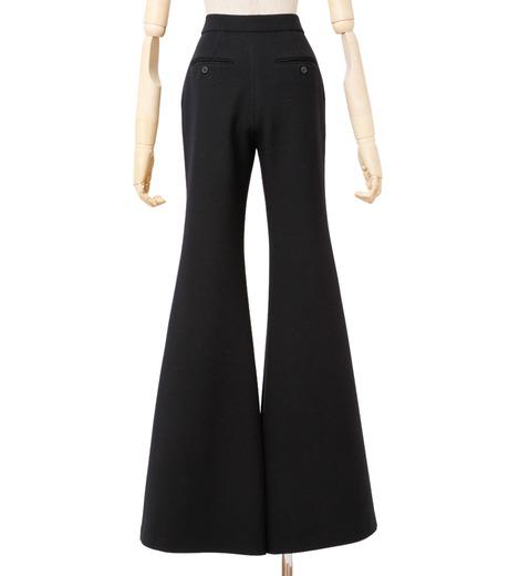 IRENE(アイレネ)のトランペットトラウザー-BLACK(パンツ/pants)-18A88002 詳細画像3