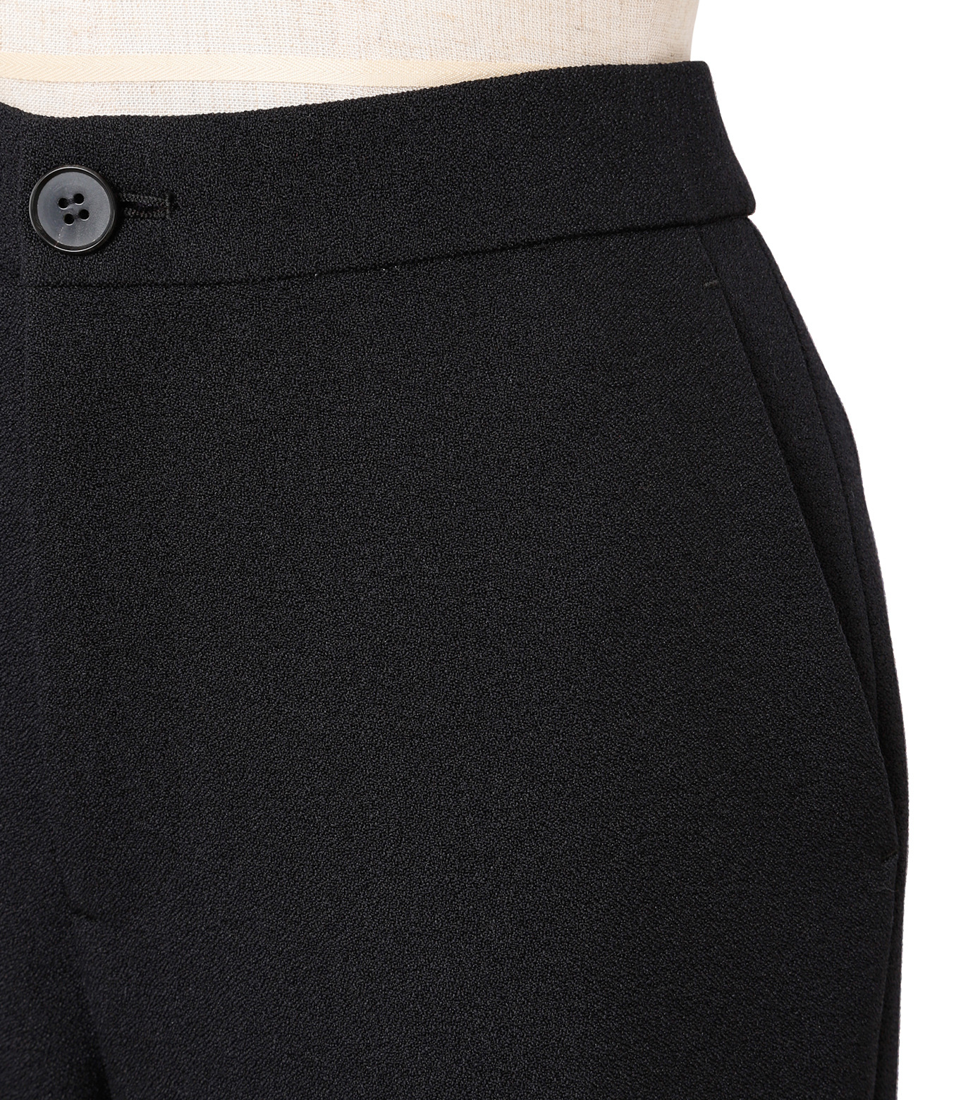 IRENE(アイレネ)のトランペットトラウザー-BLACK(パンツ/pants)-18A88002 拡大詳細画像4