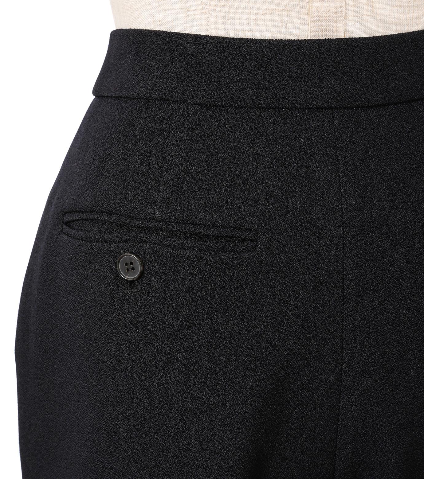 IRENE(アイレネ)のトランペットトラウザー-BLACK(パンツ/pants)-18A88002 拡大詳細画像5