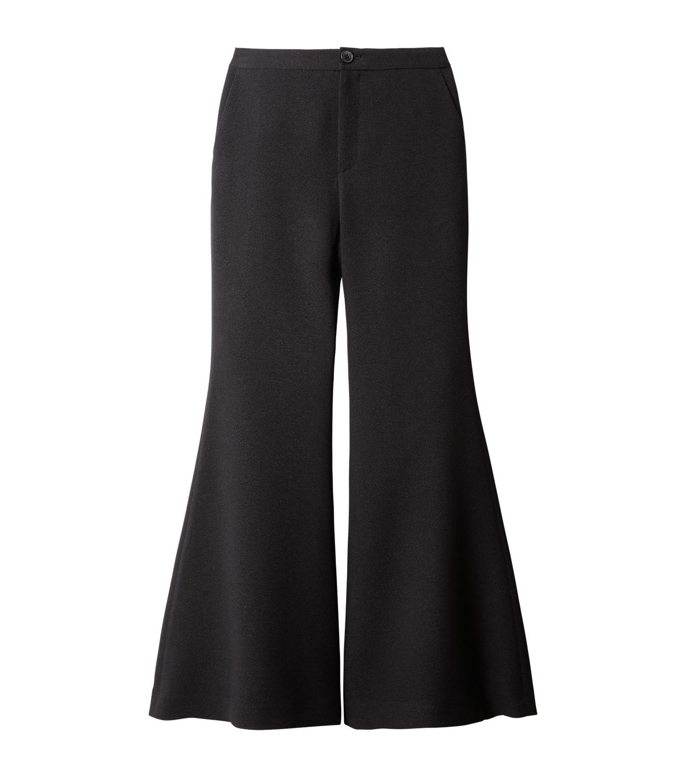 IRENE(アイレネ)のトランペットトラウザー-BLACK(パンツ/pants)-18A88002 拡大詳細画像8