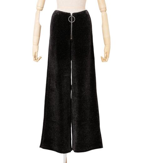 IRENE(アイレネ)のシルクワイドパンツ-CHARCHOL GRAY(パンツ/pants)-18A88004 詳細画像1