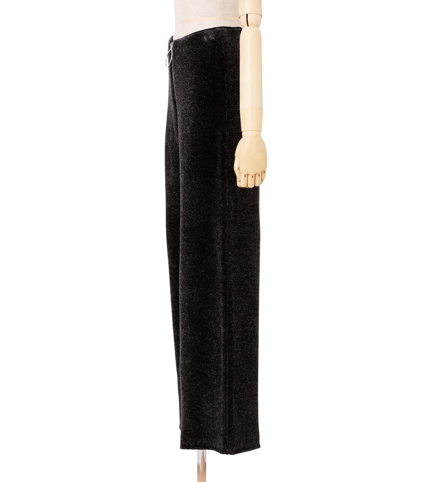 IRENE(アイレネ)のシルクワイドパンツ-CHARCHOL GRAY(パンツ/pants)-18A88004 拡大詳細画像2