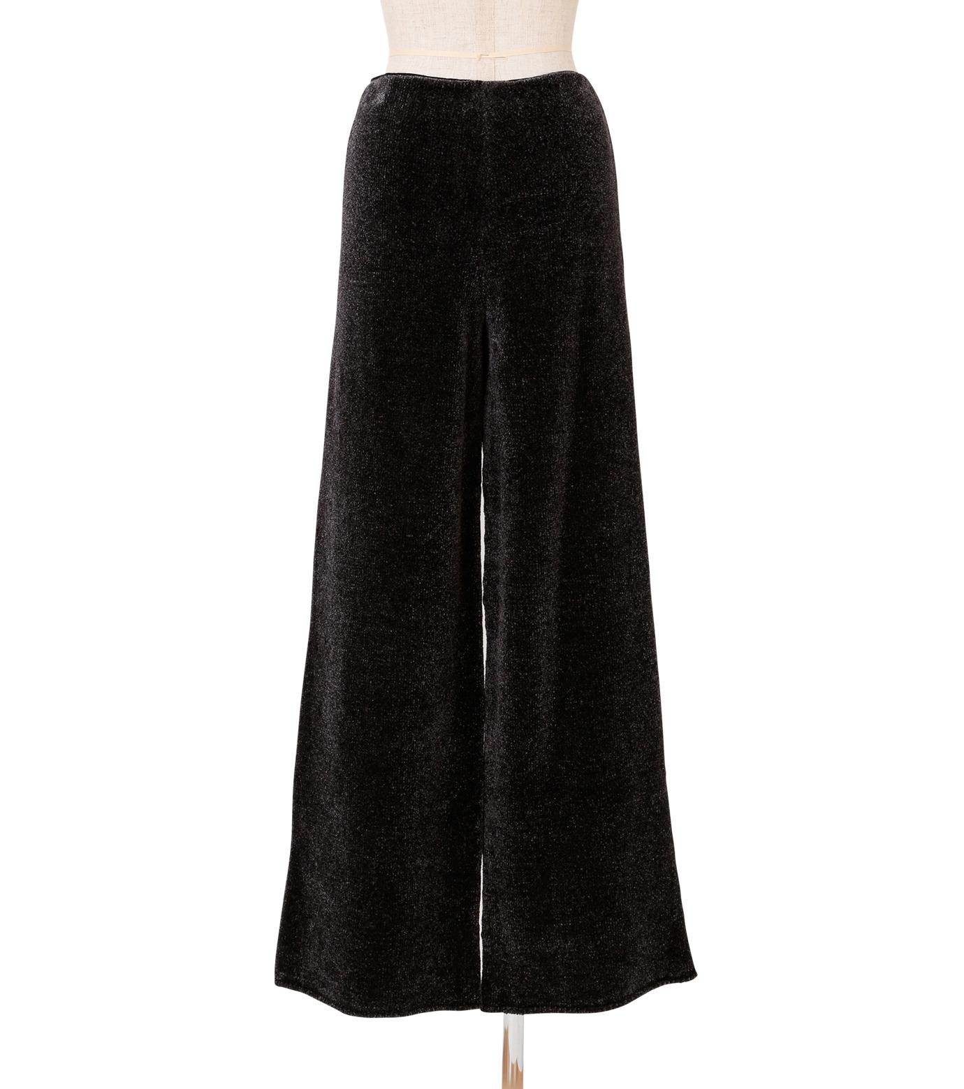 IRENE(アイレネ)のシルクワイドパンツ-CHARCHOL GRAY(パンツ/pants)-18A88004 拡大詳細画像3