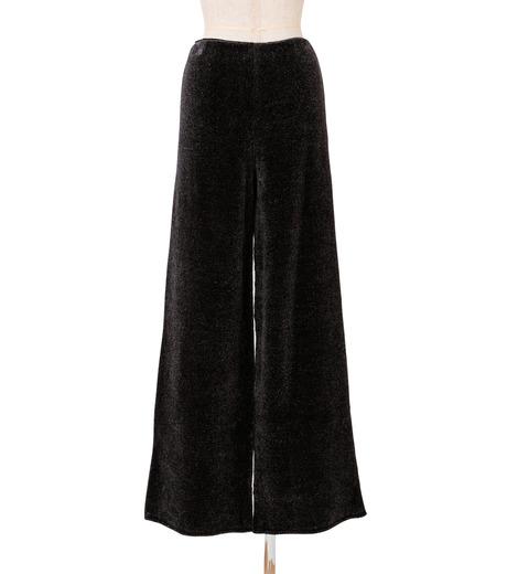 IRENE(アイレネ)のシルクワイドパンツ-CHARCHOL GRAY(パンツ/pants)-18A88004 詳細画像3