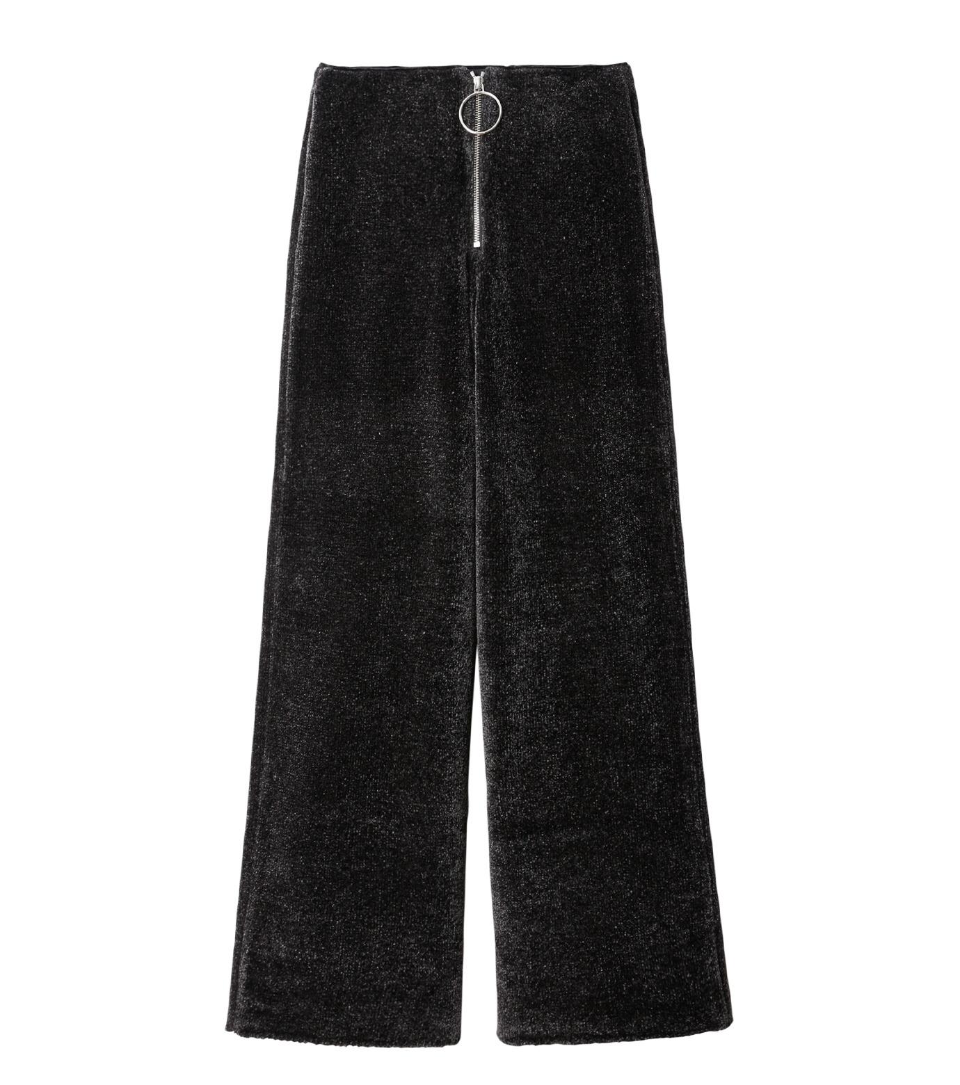 IRENE(アイレネ)のシルクワイドパンツ-CHARCHOL GRAY(パンツ/pants)-18A88004 拡大詳細画像6