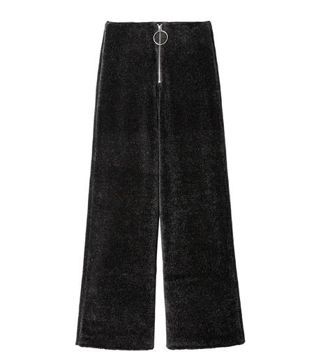 IRENE(アイレネ)のシルクワイドパンツ-CHARCHOL GRAY(パンツ/pants)-18A88004 詳細画像6
