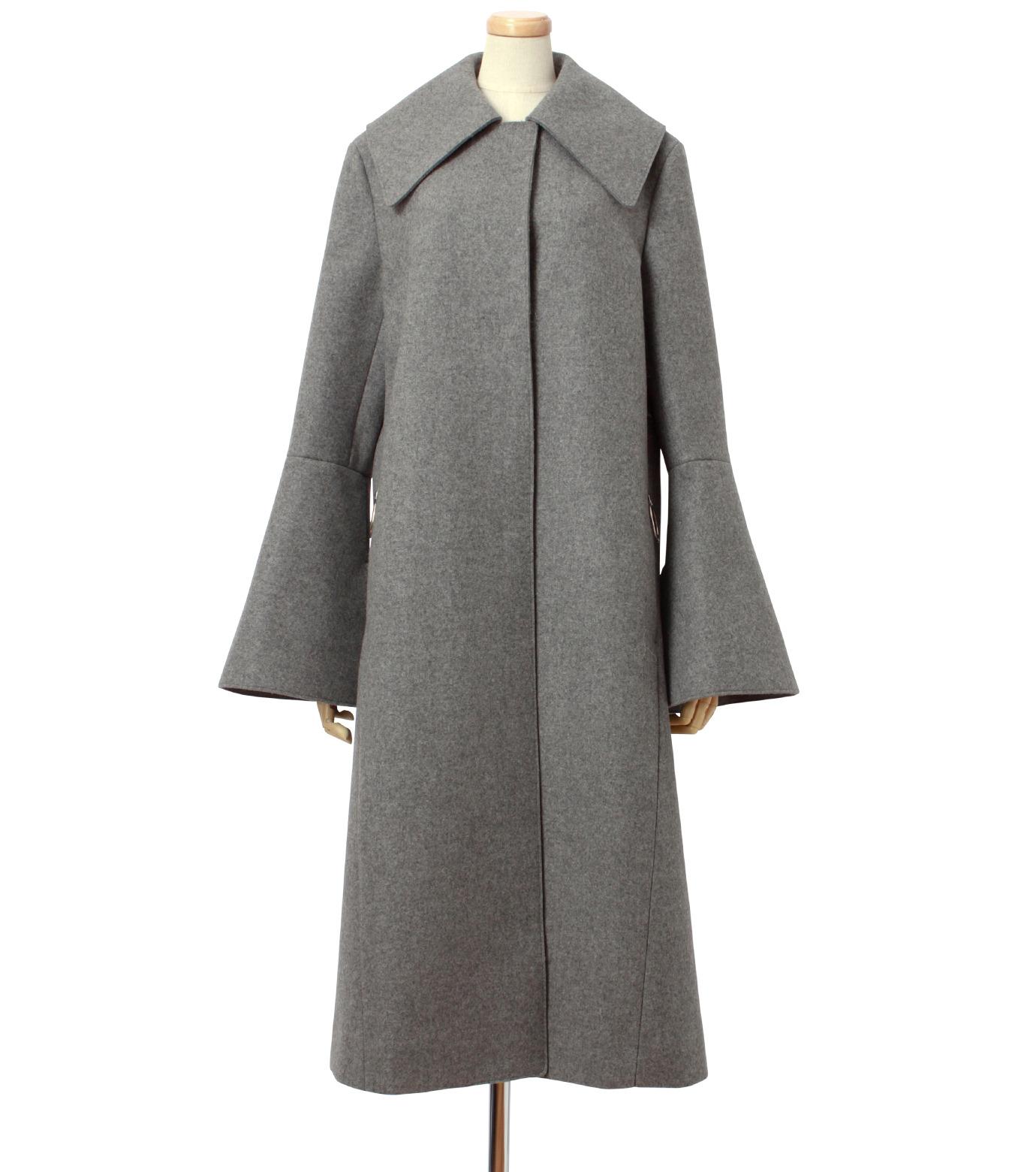 IRENE(アイレネ)のベルスリーブトレンチコート-GRAY(コート/coat)-18A89004 拡大詳細画像1