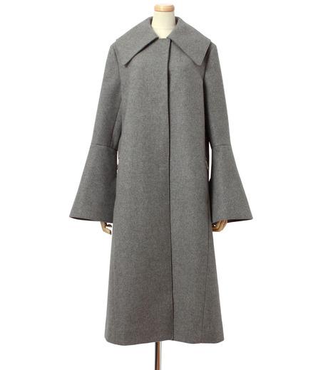 IRENE(アイレネ)のベルスリーブトレンチコート-GRAY(コート/coat)-18A89004 詳細画像1