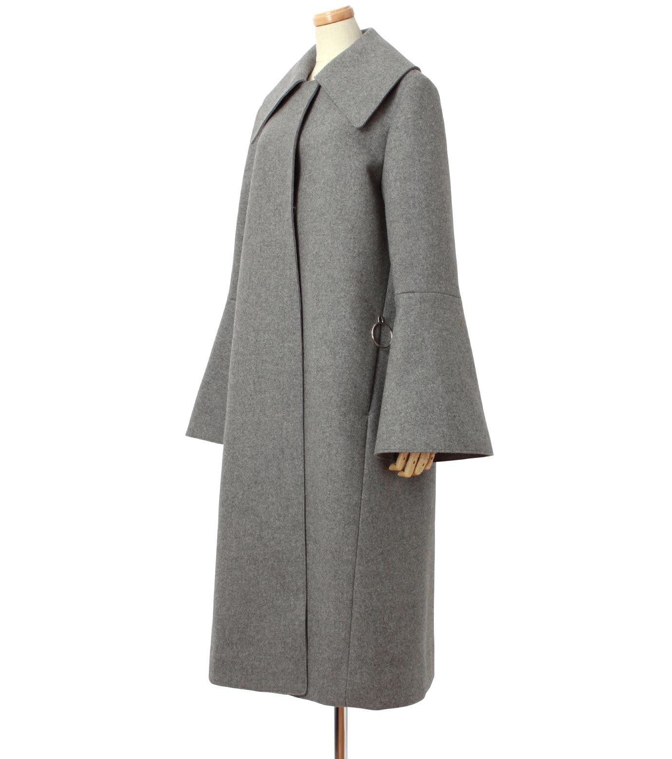 IRENE(アイレネ)のベルスリーブトレンチコート-GRAY(コート/coat)-18A89004 拡大詳細画像2