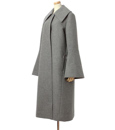 IRENE(アイレネ)のベルスリーブトレンチコート-GRAY(コート/coat)-18A89004 詳細画像2