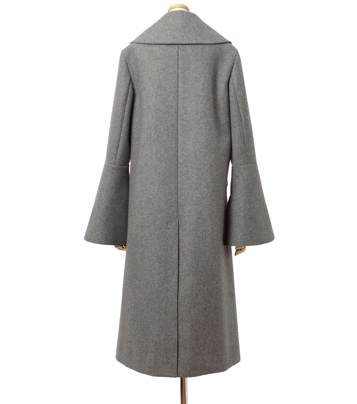 IRENE(アイレネ)のベルスリーブトレンチコート-GRAY(コート/coat)-18A89004 拡大詳細画像3