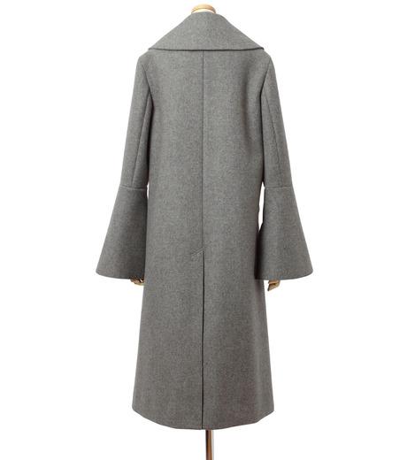 IRENE(アイレネ)のベルスリーブトレンチコート-GRAY(コート/coat)-18A89004 詳細画像3