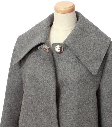 IRENE(アイレネ)のベルスリーブトレンチコート-GRAY(コート/coat)-18A89004 詳細画像4