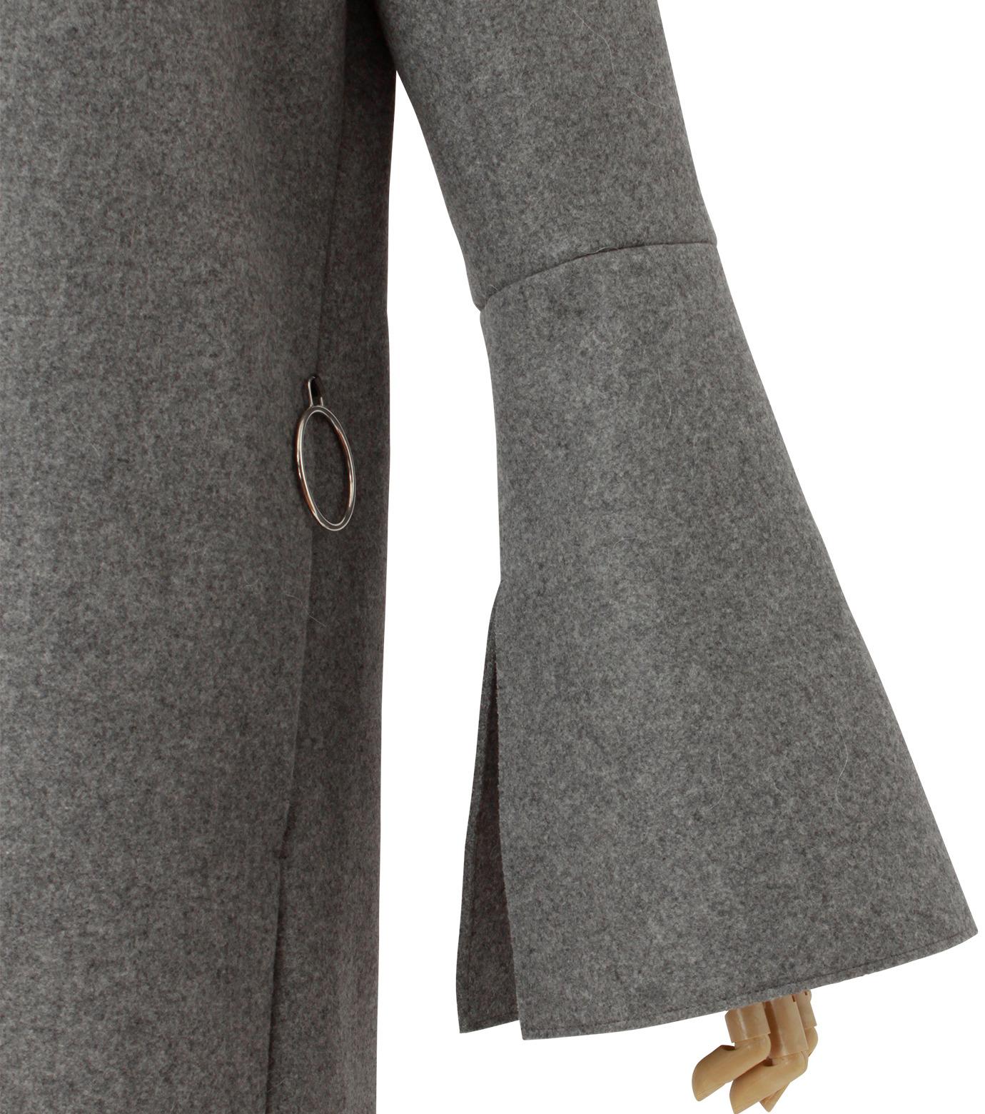 IRENE(アイレネ)のベルスリーブトレンチコート-GRAY(コート/coat)-18A89004 拡大詳細画像5