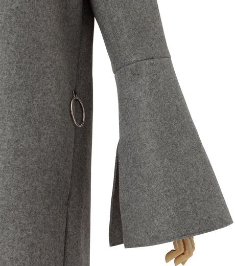 IRENE(アイレネ)のベルスリーブトレンチコート-GRAY(コート/coat)-18A89004 詳細画像5