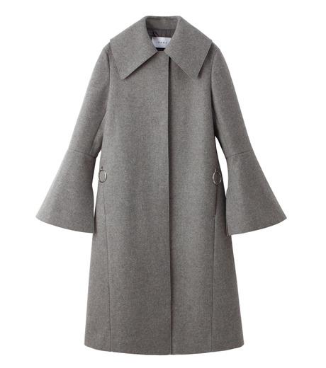 IRENE(アイレネ)のベルスリーブトレンチコート-GRAY(コート/coat)-18A89004 詳細画像7