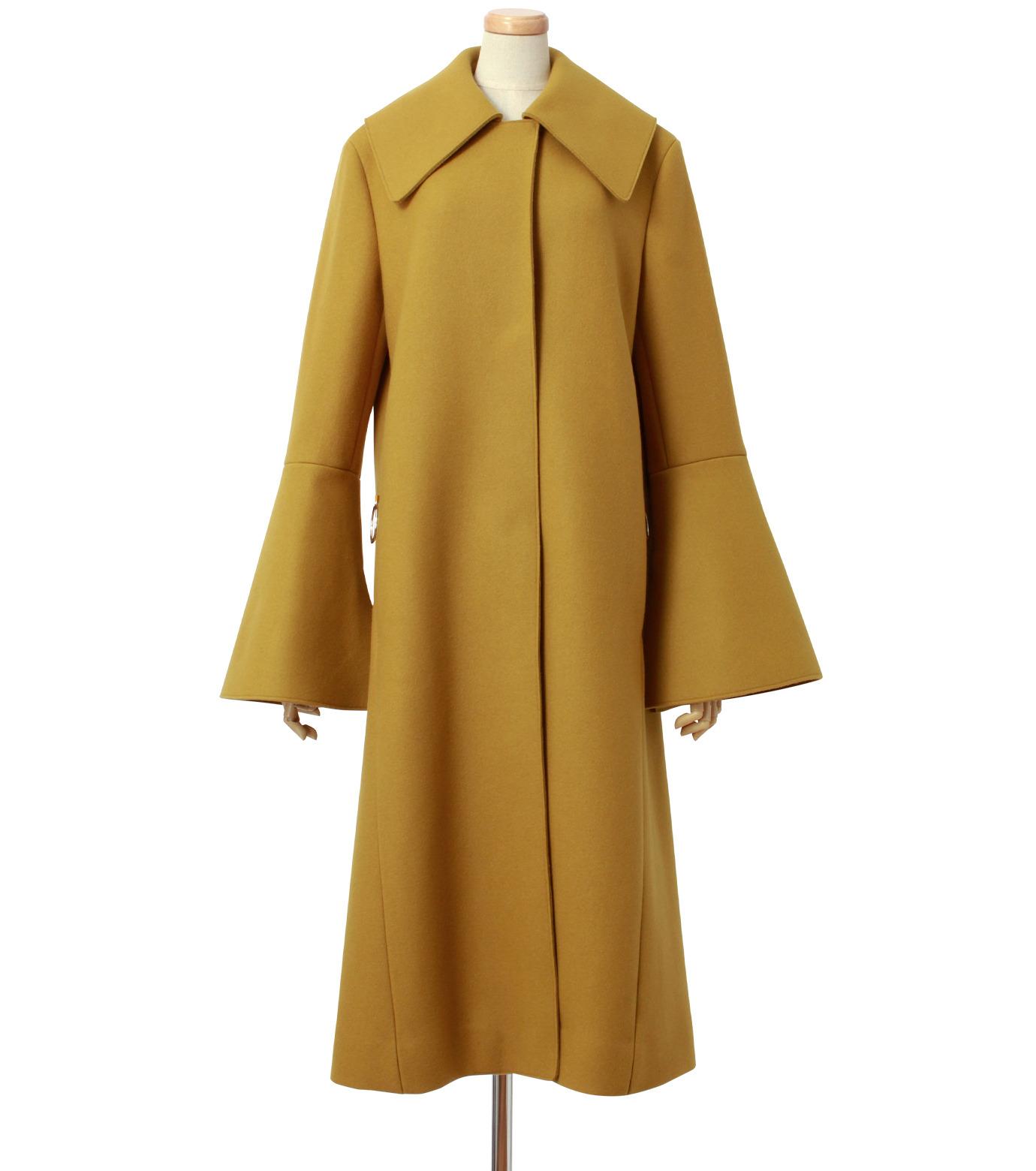 IRENE(アイレネ)のベルスリーブトレンチコート-MUSTARD(コート/coat)-18A89004 拡大詳細画像1