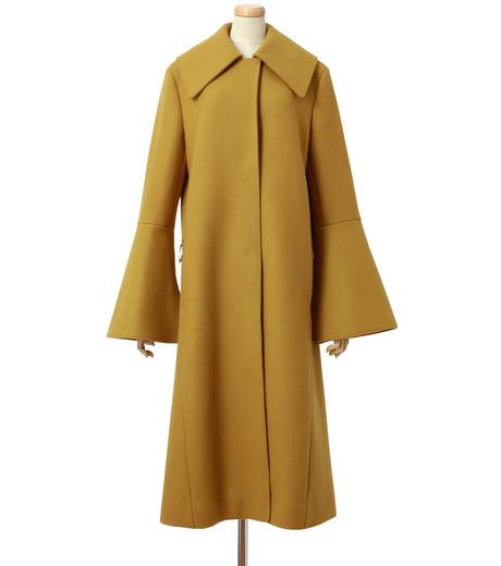 IRENE(アイレネ)のベルスリーブトレンチコート-MUSTARD(コート/coat)-18A89004 詳細画像1