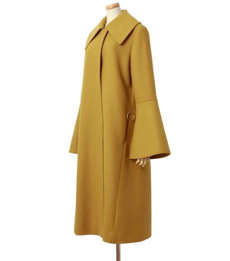 IRENE(アイレネ)のベルスリーブトレンチコート-MUSTARD(コート/coat)-18A89004 詳細画像2