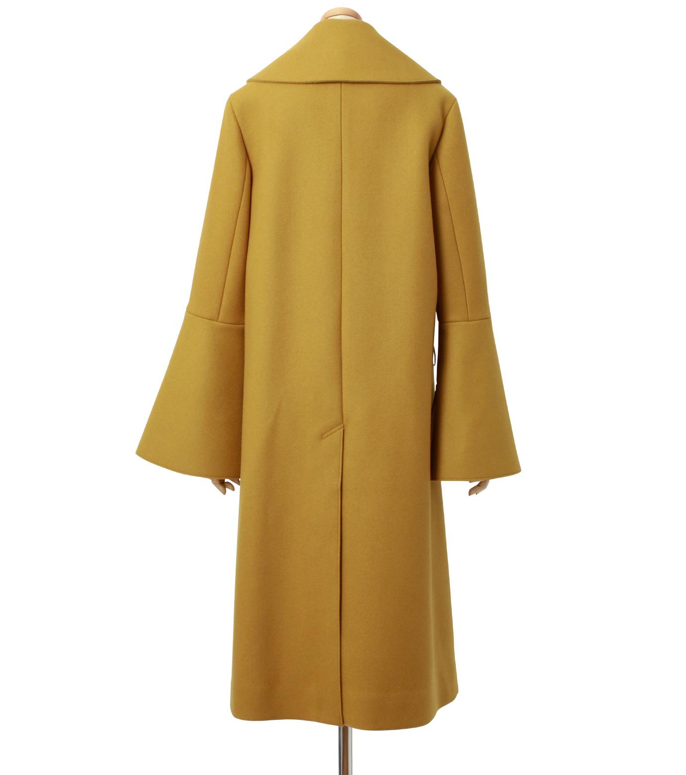 IRENE(アイレネ)のベルスリーブトレンチコート-MUSTARD(コート/coat)-18A89004 拡大詳細画像3