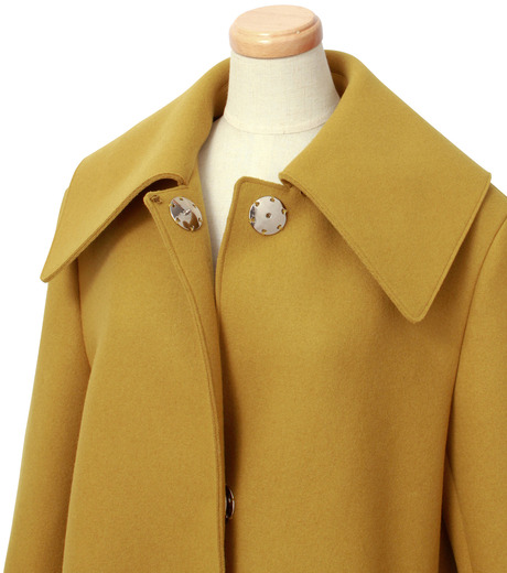 IRENE(アイレネ)のベルスリーブトレンチコート-MUSTARD(コート/coat)-18A89004 詳細画像4