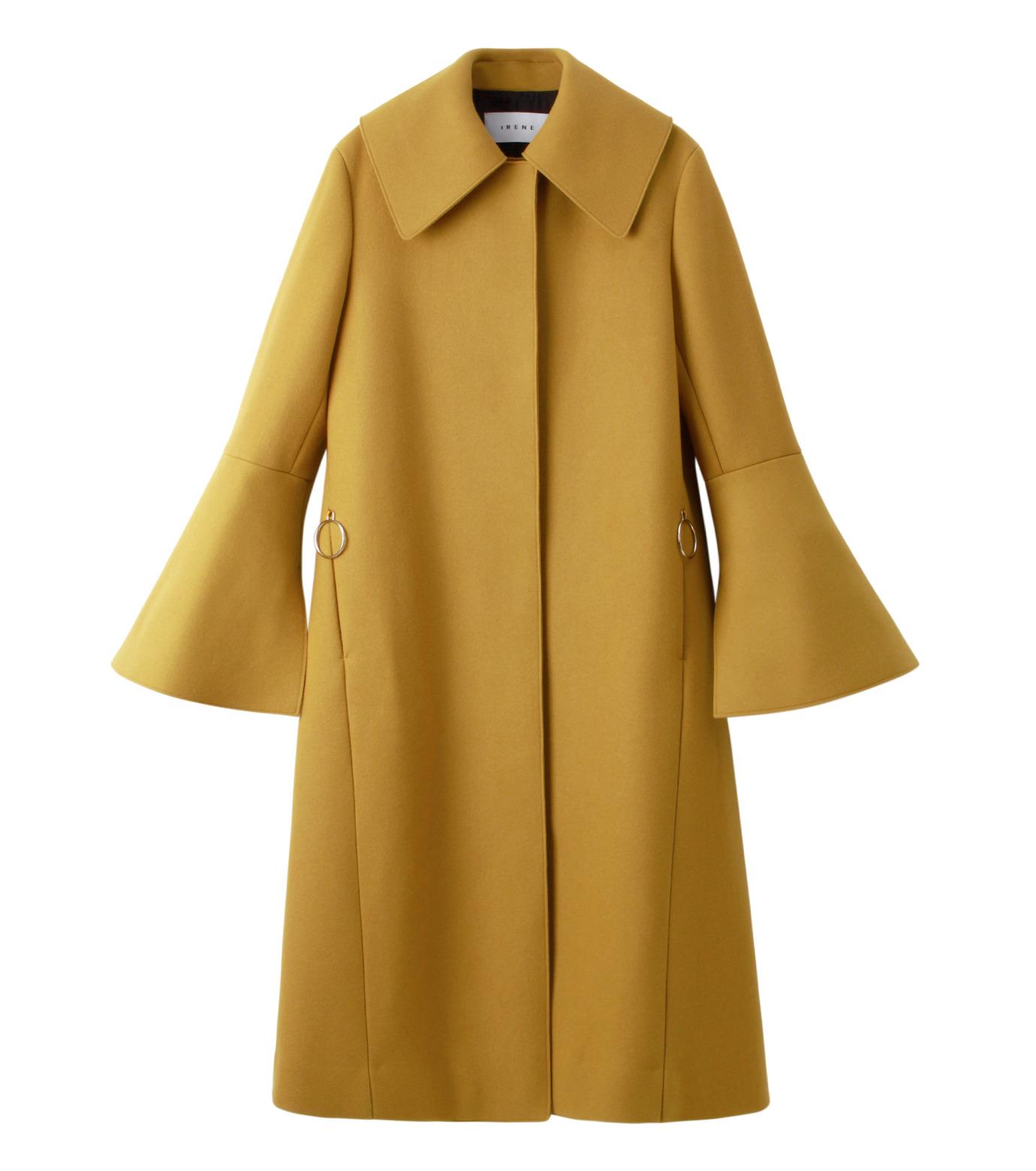 IRENE(アイレネ)のベルスリーブトレンチコート-MUSTARD(コート/coat)-18A89004 拡大詳細画像7
