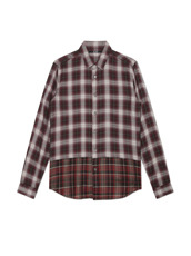 HL HEDDIE LOVU LAYERED CHECK SHIRT