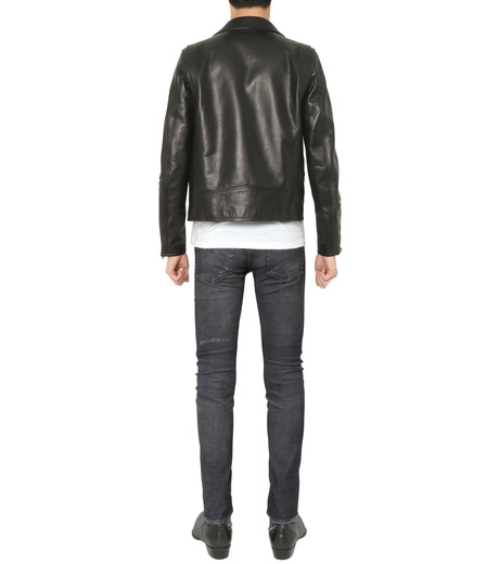 HL HEDDIE LOVU(エイチエル・エディールーヴ)のSEMI DOUBLE RIDERS JACKET-BLACK(ジャケット/jacket)-18A94001-13 詳細画像3