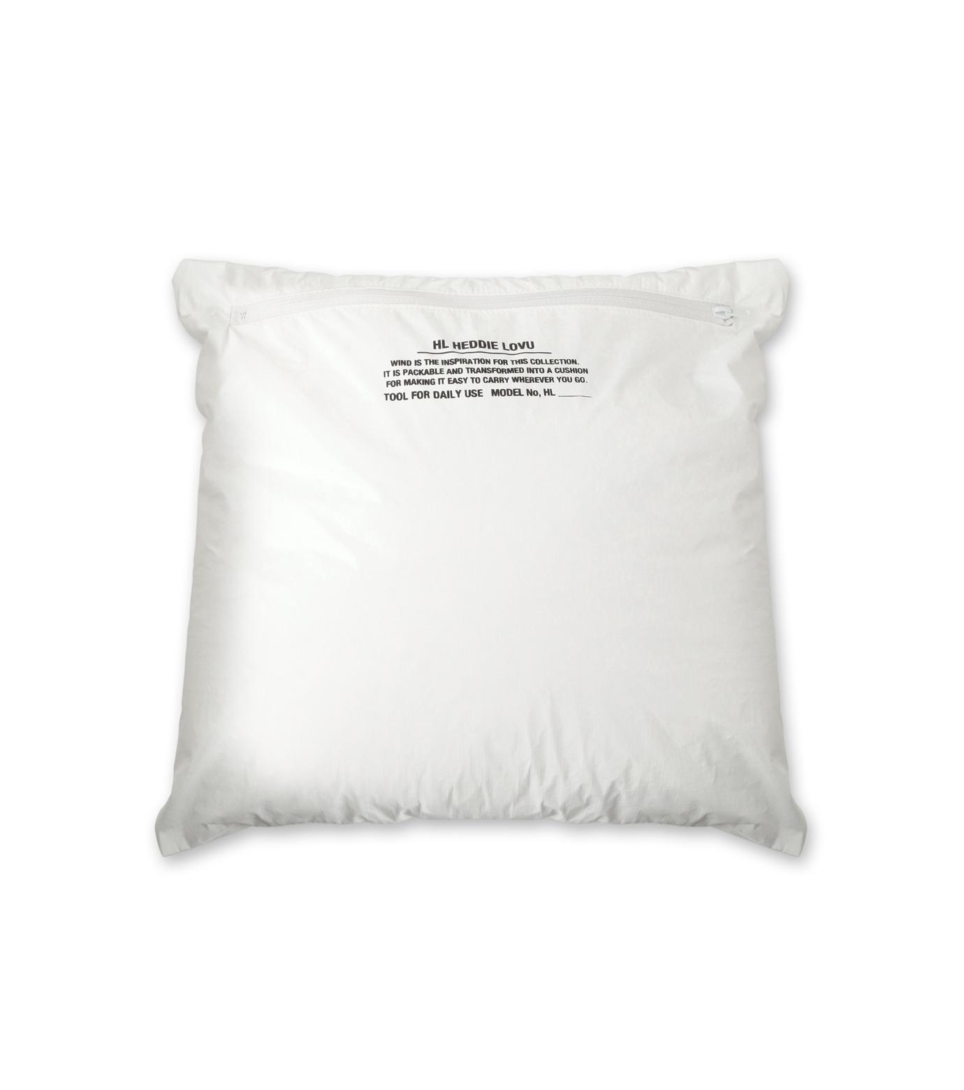 HL HEDDIE LOVU(エイチエル・エディールーヴ)のPAPER RIB COLLAR JACKET-WHITE(ジャケット/jacket)-18A94004-4 拡大詳細画像2