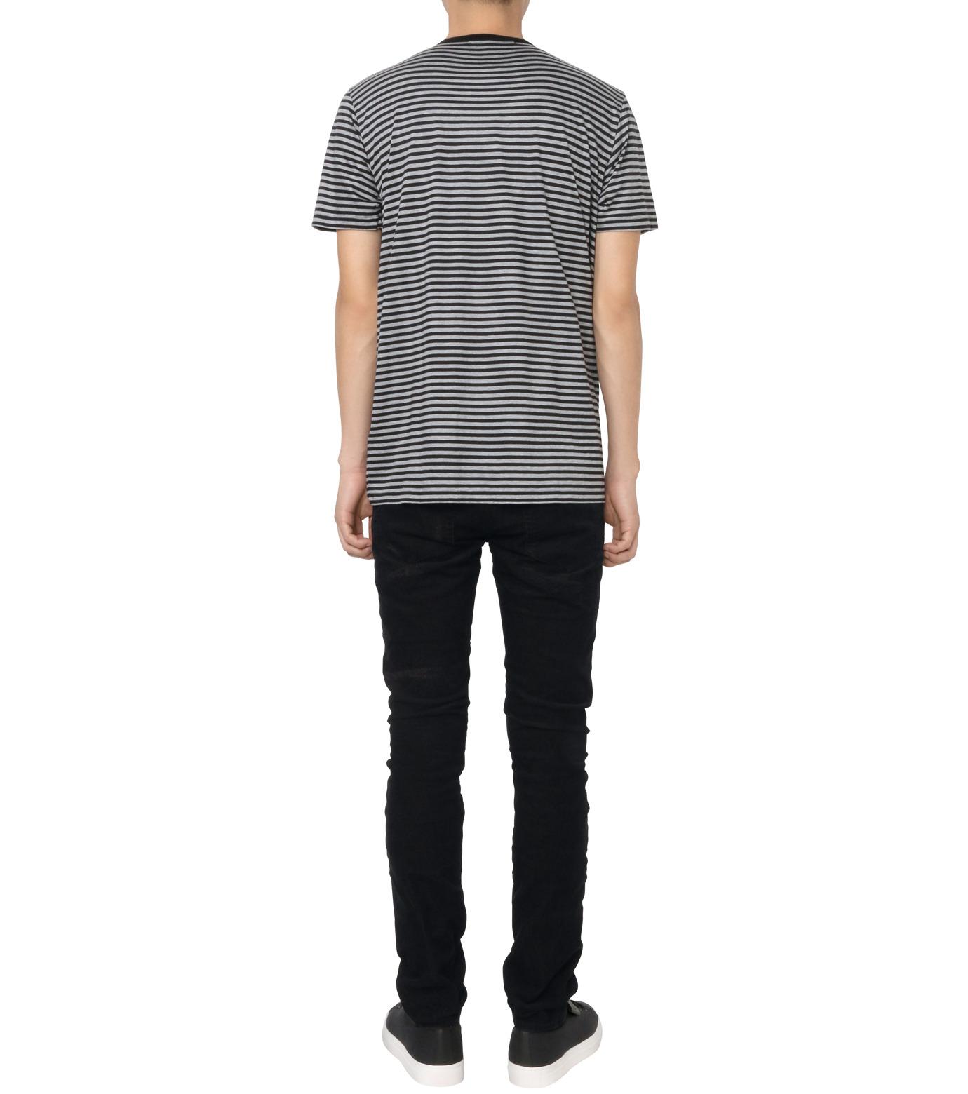 HL HEDDIE LOVU(エイチエル・エディールーヴ)のBLACK CORDUROY DAMAGE PANTS-BLACK(パンツ/pants)-18A98001-13 拡大詳細画像3