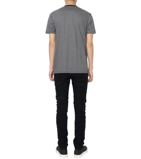 HL HEDDIE LOVU(エイチエル・エディールーヴ)のBLACK CORDUROY DAMAGE PANTS-BLACK(パンツ/pants)-18A98001-13 詳細画像3