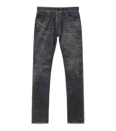 HL HEDDIE LOVU(エイチエル・エディールーヴ)のCOATING CORDUROY PANTS-GRAY(パンツ/pants)-18A98002-11 詳細画像1