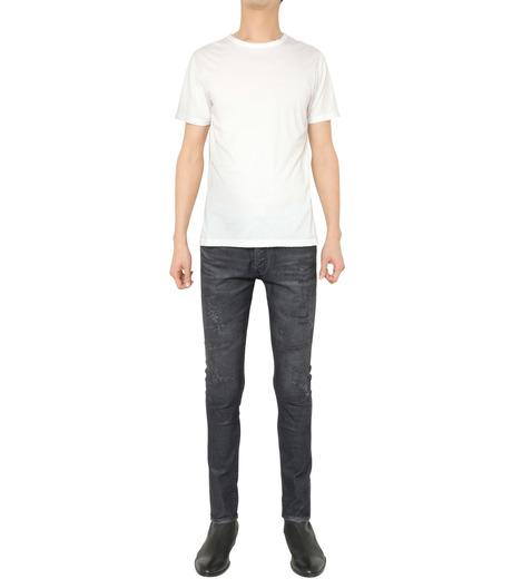 HL HEDDIE LOVU(エイチエル・エディールーヴ)のCOATING CORDUROY PANTS-GRAY(パンツ/pants)-18A98002-11 詳細画像2