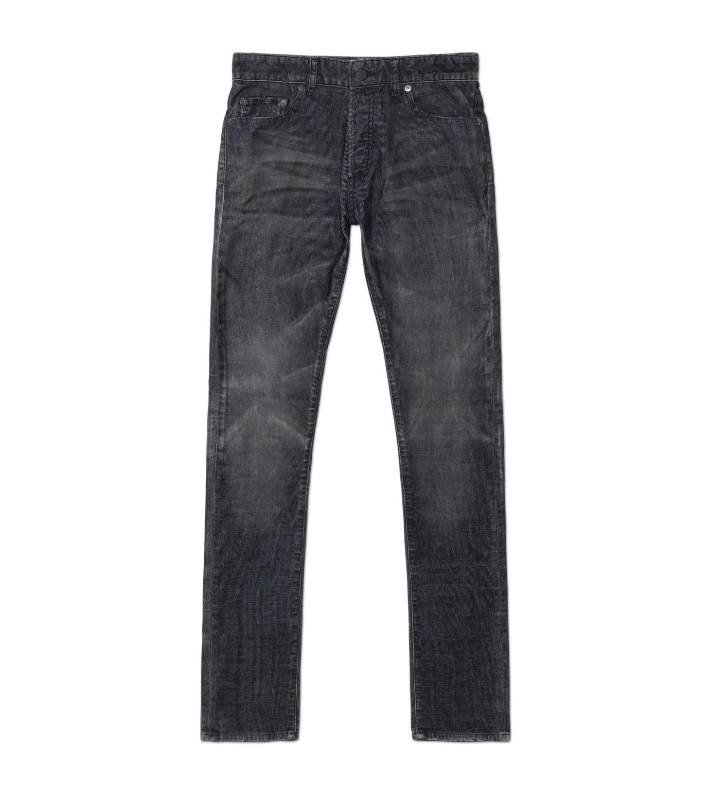 HL HEDDIE LOVU(エイチエル・エディールーヴ)のCORDUROY WASH PANTS-GRAY(パンツ/pants)-18A98003-11 拡大詳細画像1