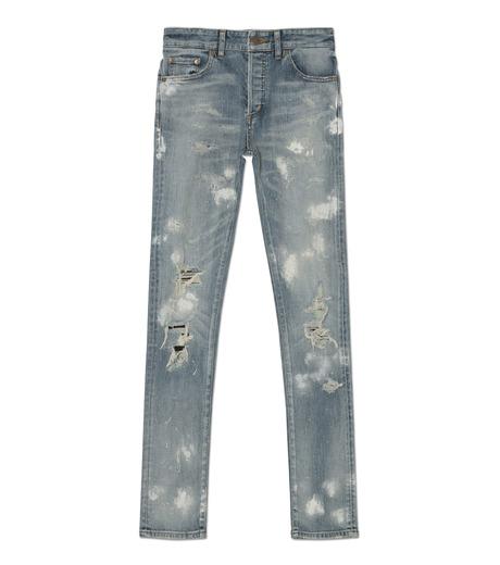 HL HEDDIE LOVU(エイチエル・エディールーヴ)のINDIGO DAMAGE4 SKIN SLIM-INDIGO(パンツ/pants)-18A98004-94 詳細画像1