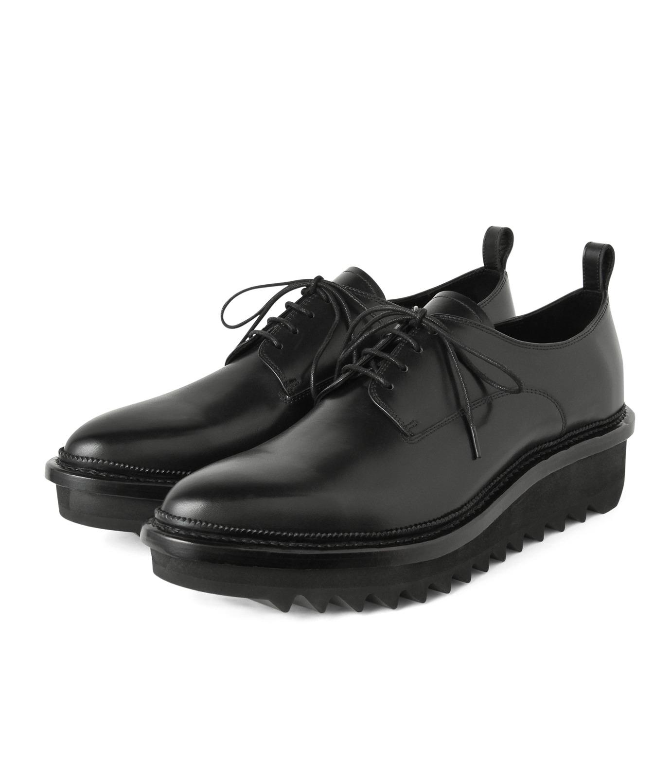 HL HEDDIE LOVU(エイチエル・エディールーヴ)のSHIRKSOLE SHOES-BLACK(シューズ/shoes)-18S90001-13 拡大詳細画像3
