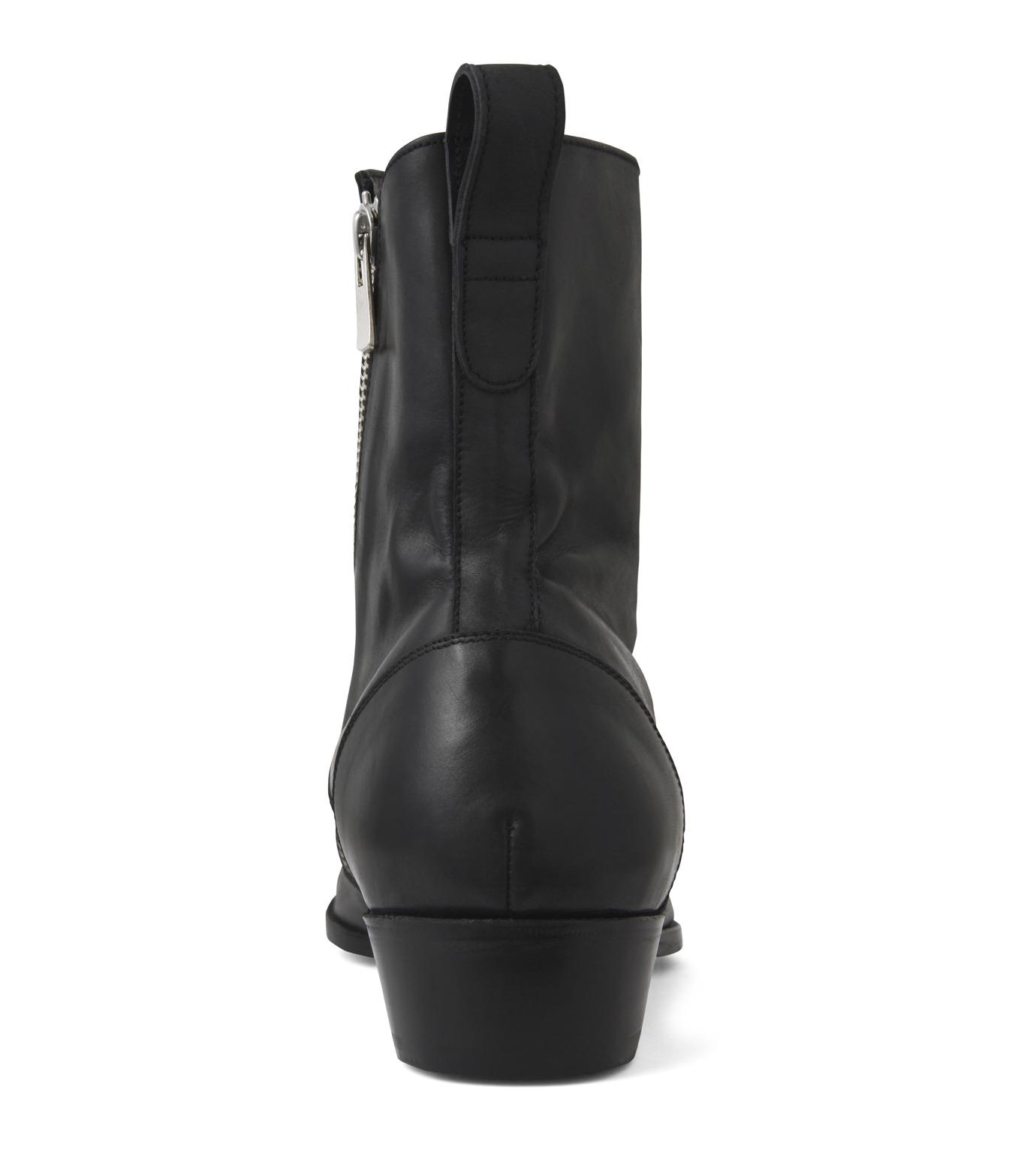 HL HEDDIE LOVU(エイチエル・エディールーヴ)のSIDE ZIP BOOTS-BLACK(シューズ/shoes)-18S90002-13 拡大詳細画像2