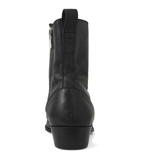 HL HEDDIE LOVU(エイチエル・エディールーヴ)のSIDE ZIP BOOTS-BLACK(シューズ/shoes)-18S90002-13 詳細画像2