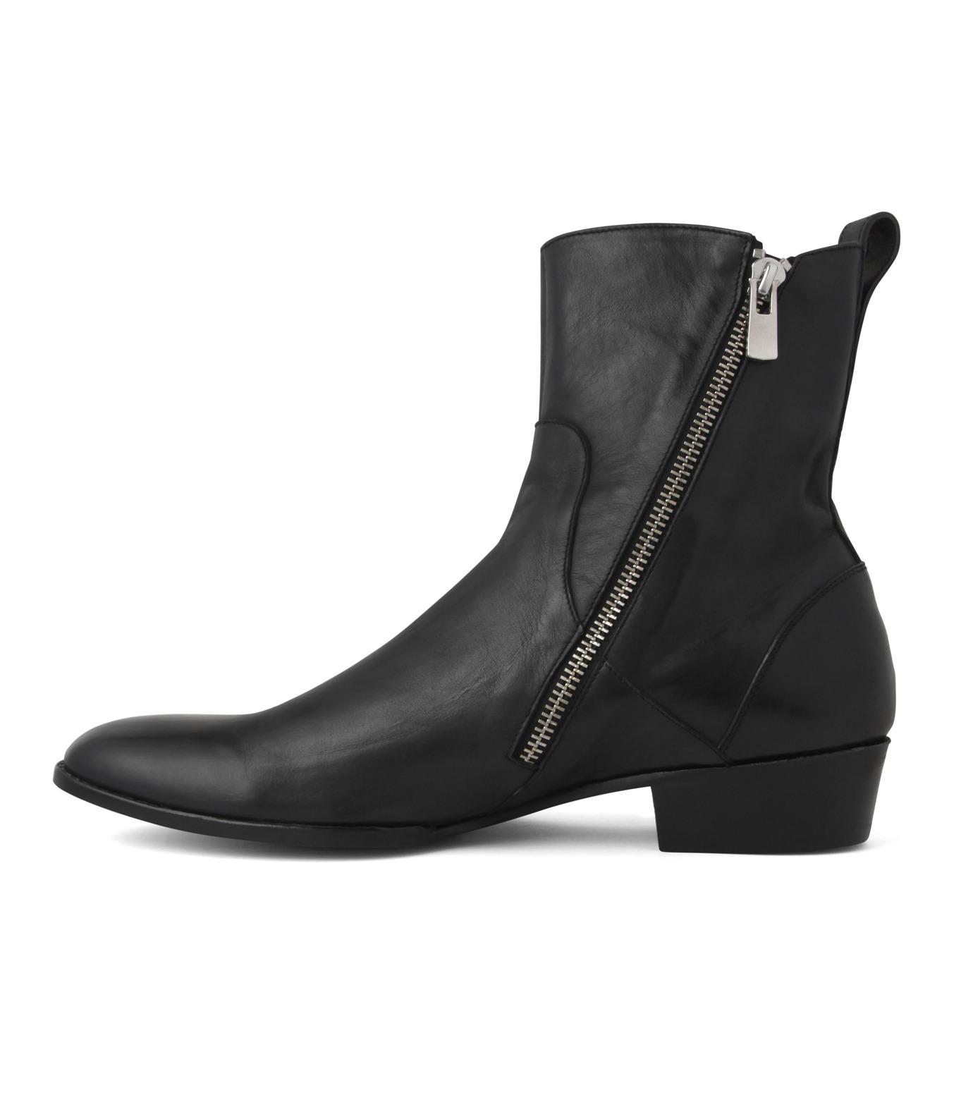 HL HEDDIE LOVU(エイチエル・エディールーヴ)のSIDE ZIP BOOTS-BLACK(シューズ/shoes)-18S90002-13 拡大詳細画像3