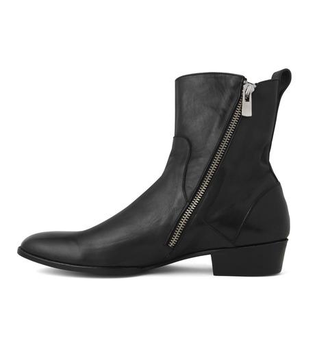 HL HEDDIE LOVU(エイチエル・エディールーヴ)のSIDE ZIP BOOTS-BLACK(シューズ/shoes)-18S90002-13 詳細画像3