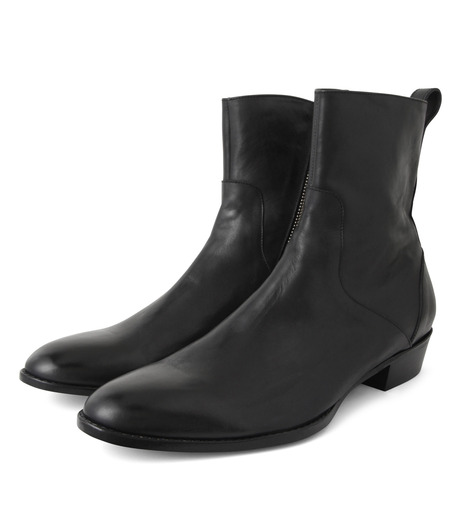 HL HEDDIE LOVU(エイチエル・エディールーヴ)のSIDE ZIP BOOTS-BLACK(シューズ/shoes)-18S90002-13 詳細画像4