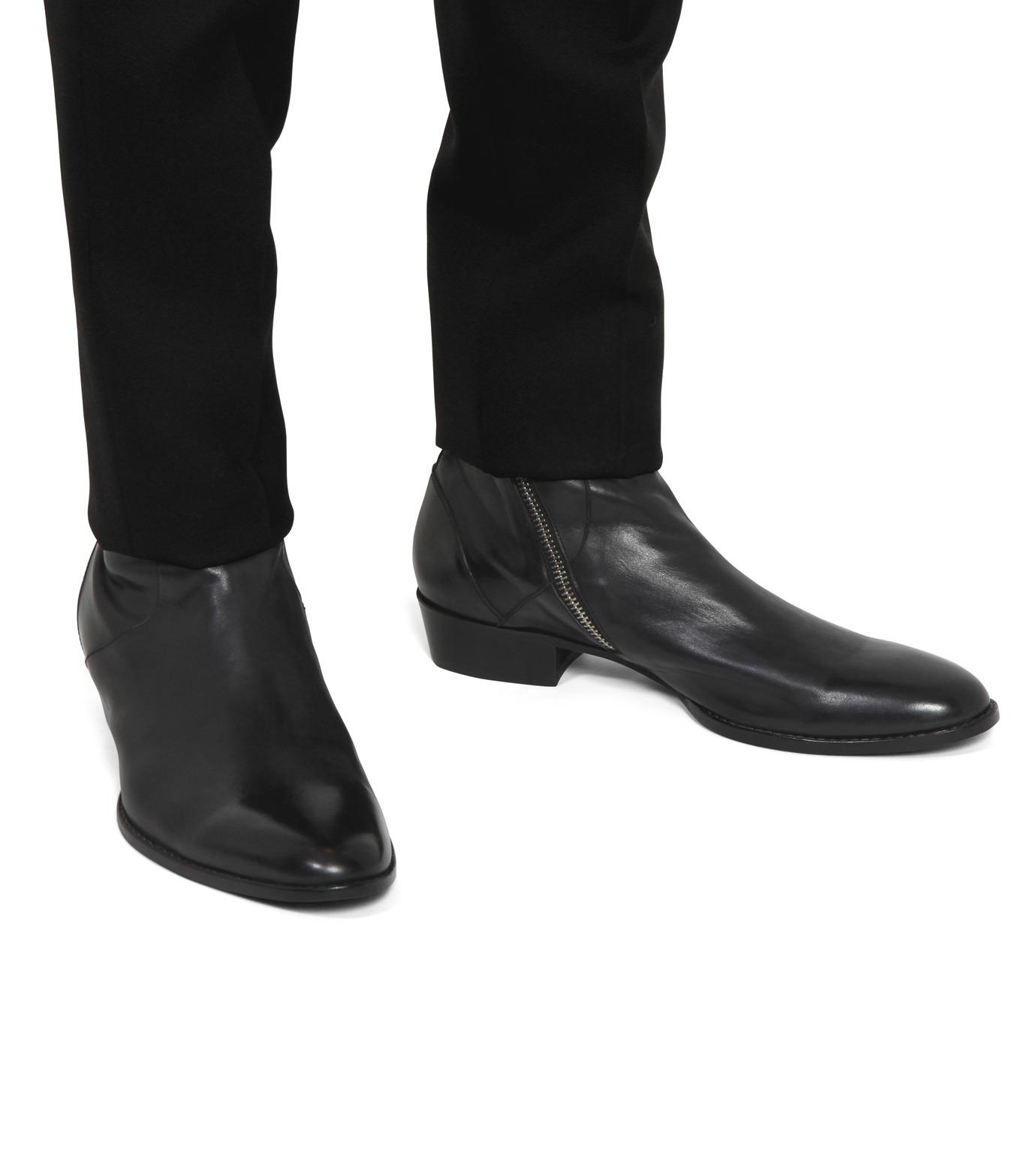 HL HEDDIE LOVU(エイチエル・エディールーヴ)のSIDE ZIP BOOTS-BLACK(シューズ/shoes)-18S90002-13 拡大詳細画像5